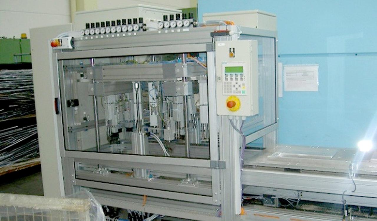 Ultraschall Schweißautomat