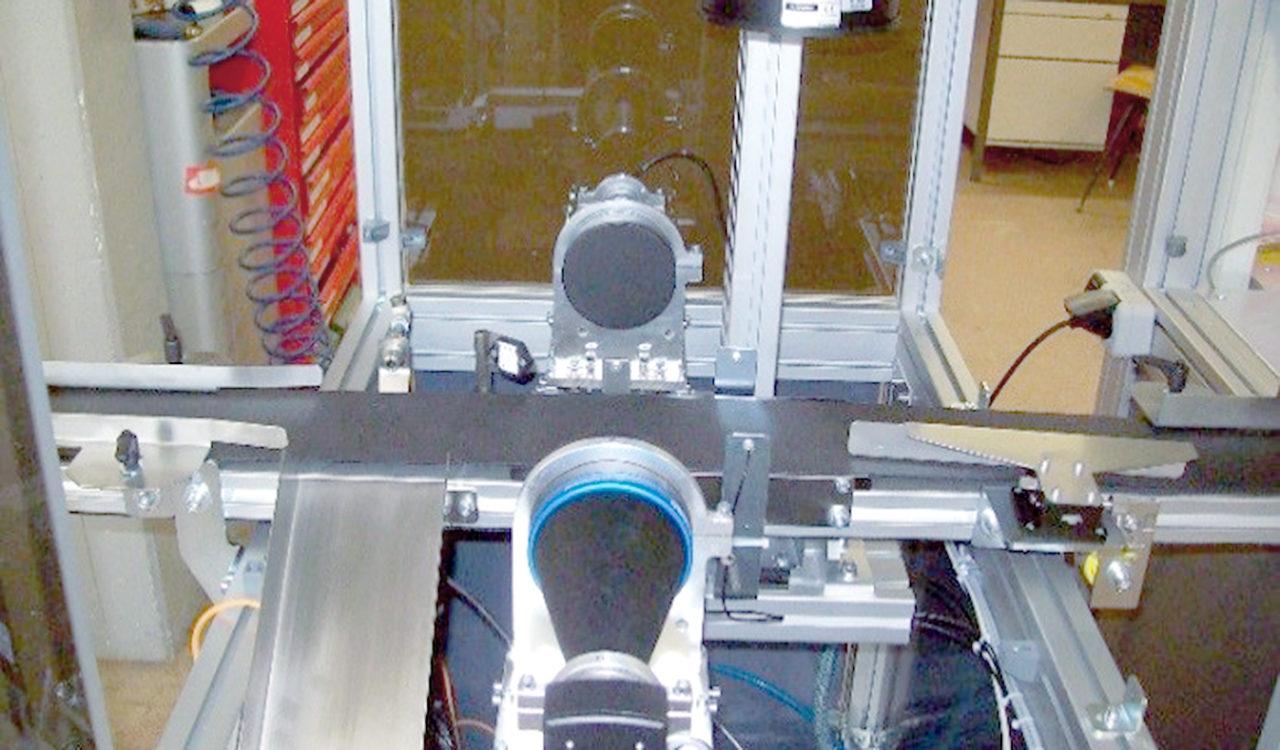 Kameraüberwachung Dosenproduktion