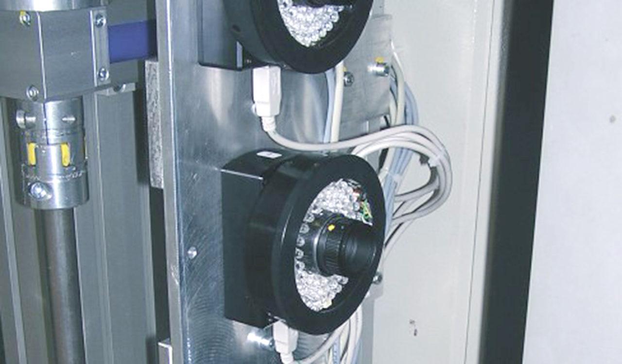 Kameraüberwachung PET Preform